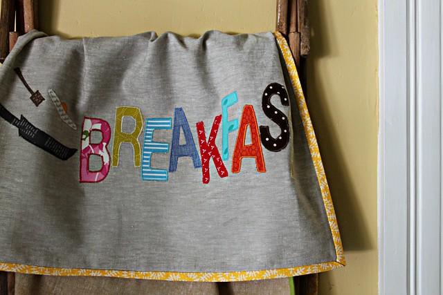 Breakfast Towel from Patchowrk Please!
