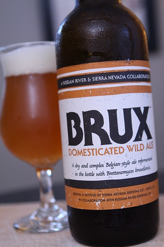 Sierra Nevada and Russian River Brux Domesticated Wild Ale