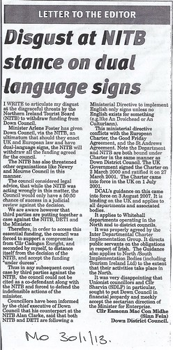 Jan 30 2013 NITB Stance on Language Signs0001 by CadoganEnright