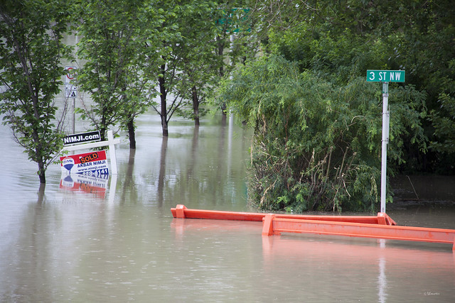 Calgary Flood 2013 - Day 2: sold