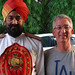 josh and friend delhi by Josh Friedman Luxury Travel