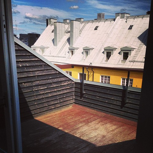 8 kvadrat takterrass #östgötagatan