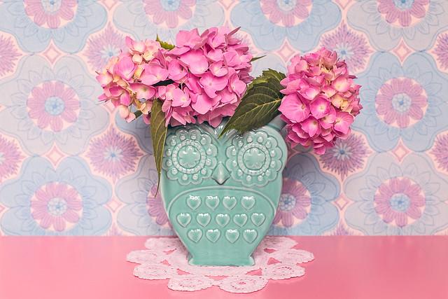 Owl vase love <3