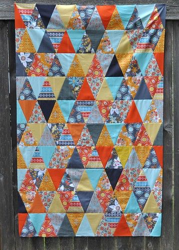 mod yardage triangles