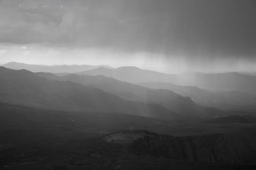 sunset summer storm mountains rain colorado rockymountains mtevans