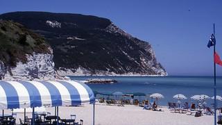 Sirolo, Beach, Italien