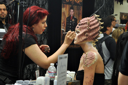 SDCC 2013 : Cinema Makeup School #2