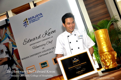 The Honorary Chef Edward Kwon of Berjaya University College of Hospitality 13
