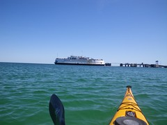 Setting out from Oak Bluffs