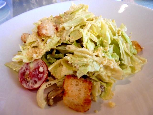 Bistecca & Bistro Ceasar's salad