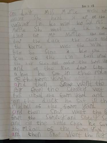 Ettienne's writing