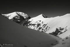 MONTE LO SPICCHIO in invernale (Parco monte Cucco - Umbria)