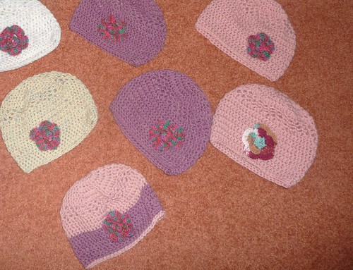 With thanks to Myrna. Knitted Items.