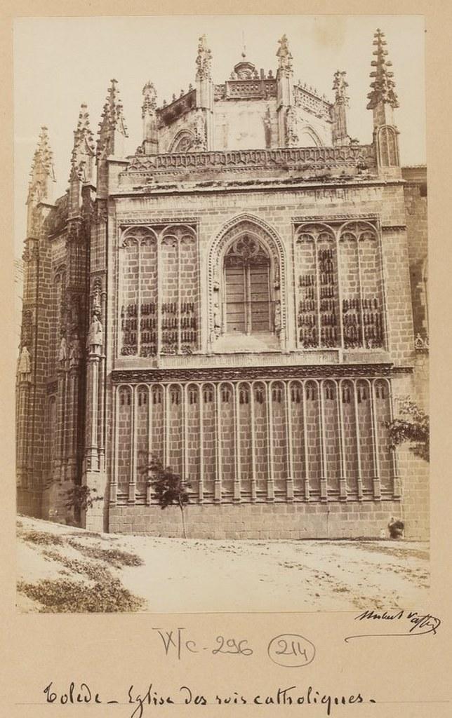 San Juan de los Reyes en 1889. Fotografía de Marie Hubert Vaffier © Bibliothèque Nationale de France