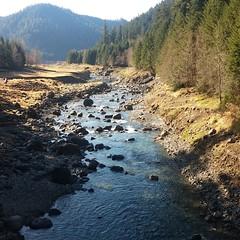 Near Blue River Reservoir in Oregon.  #Nofilter #Spring #OR #SurvivalBros #CameronMcKirdy #outdoors