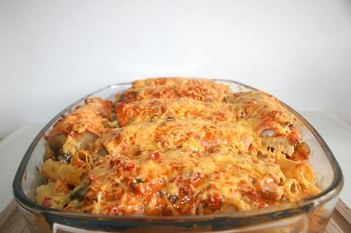 40 - Chicory pasta bake - Gratinated II / Chicoree Nudelauflauf - Fertig-überbacken II