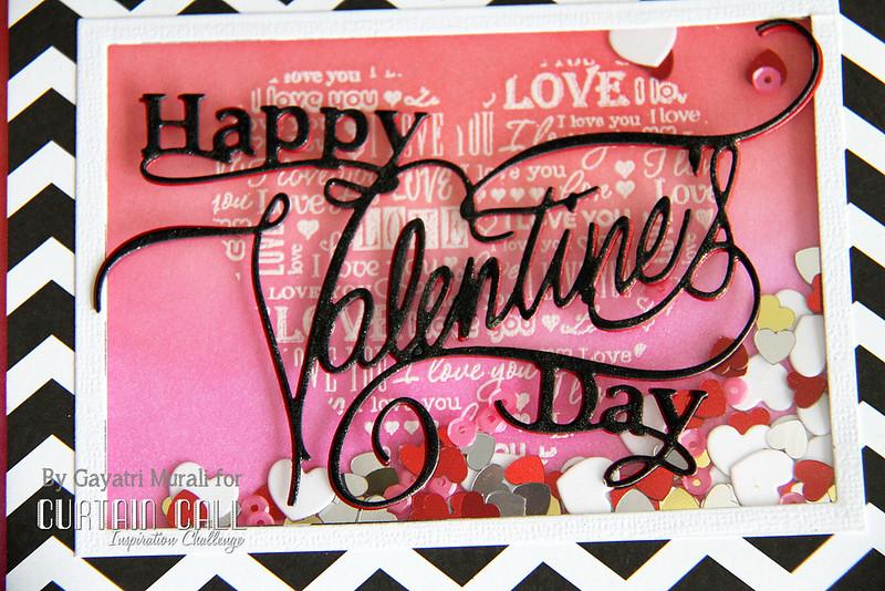 Happy valentine's day closeup1