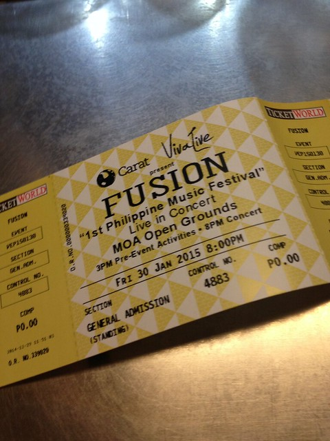 FUSION: Philippine OPM Concert + FOTD Sweet Rock and Rock On!