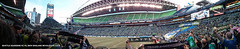Sounders FC vs New England Revolution panorama