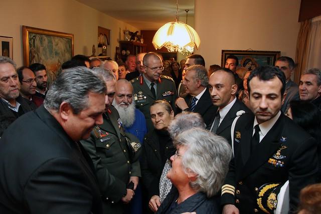 Ολοκλήρωση επίσκεψης του ΥΕΘΑ Πάνου Καμμένου στην Κύπρο