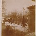 Real Photo Postcard [Trimmed]: A Cat In Winter by mrwaterslide