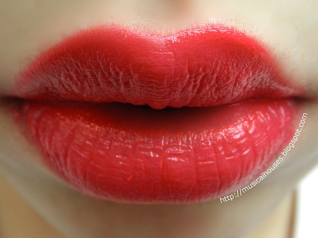 Etude House Color in Liquid Lips Swatch Lips PK004