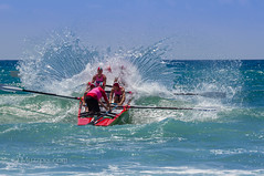 "muzzpix-nz posted a photo:	Facebook    | 500px  | WebsiteIt""s the middle of our summer surf lifesaving comps at Mount Maunganui beach and here the open class men give it all in their morning heats . Just love the almost perfect wave splash and this Tamron lens ..."