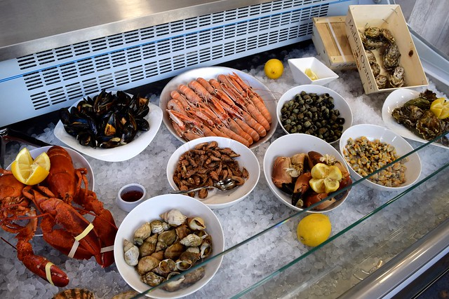Seafood Bar at Chez Joël in Canterbury