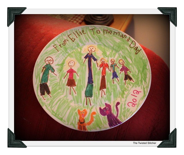 Ellie's Family Plate