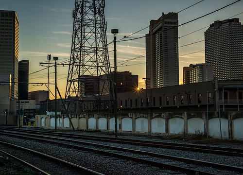 Urban Sunset by Geoff Livingston