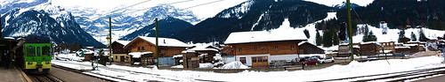 Panoramic Les Diablerets train station