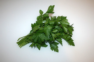 08 - Zutat Petersilie / Ingredient parsley