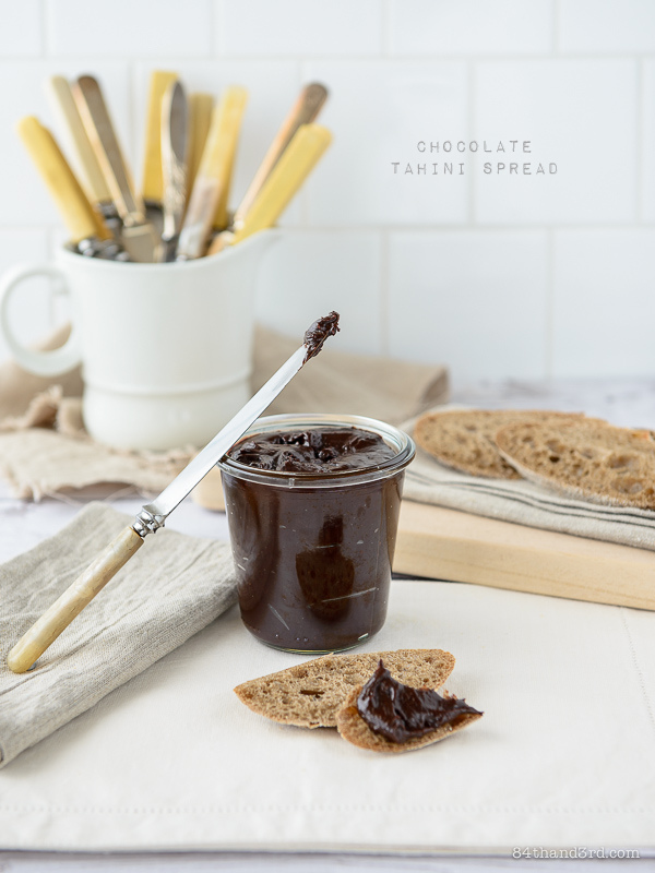 Chocolate Tahini Spread - Nut-free Not-tella
