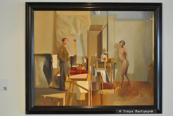 33. Juan Cardenas. Pintor y su Modelo, 1998