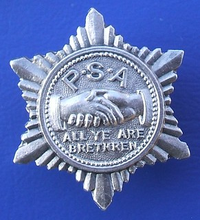 PSA - unidentified badge (c.1905)