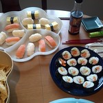 Super Bowl Sushi