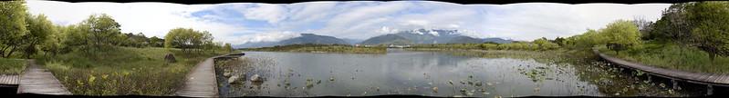 大坡池風景