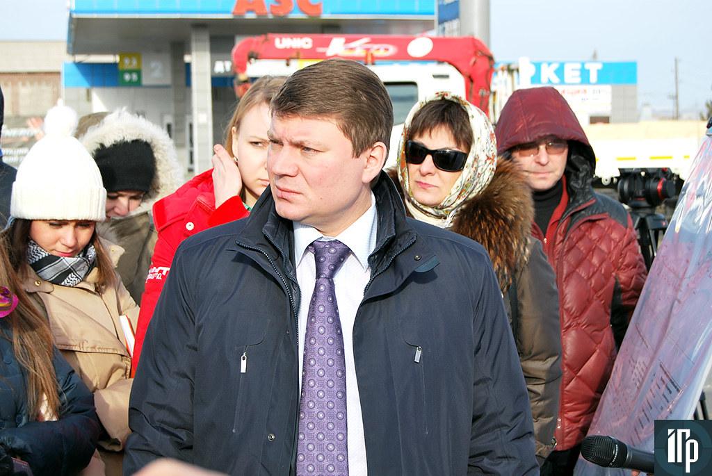 Министра транспорта края Сергей Еремин