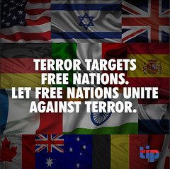 Free nations must unite against terror.