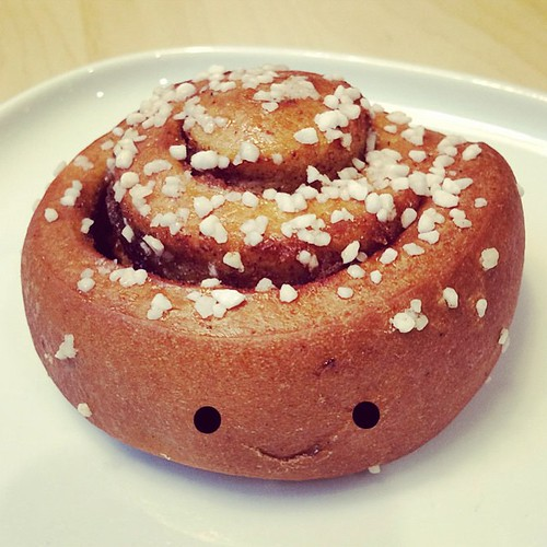 I think I ate a relative of Monsieur Le Bun today.