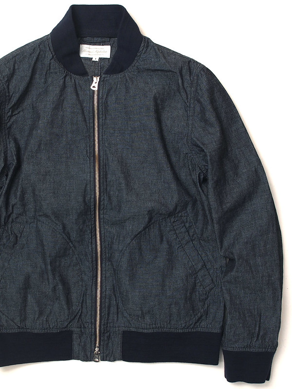 Manual Alphabet / 6.5oz. Indigo Chambray Jacket