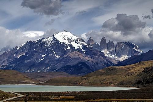 Elevation map of Punta Arenas, Región de Magallanes y de ...