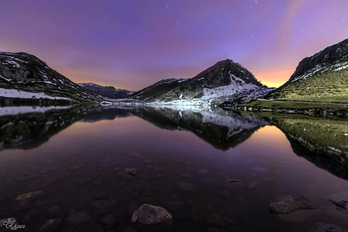 Un anoche en el Lago Enol (Covadonga)