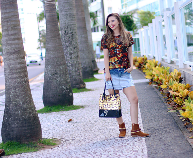 04-look do dia saia jeans e bota western petite jolie
