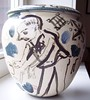 Matthias Jaeger - Art-Pottery-Vase (Summer & Leisure Motifs)