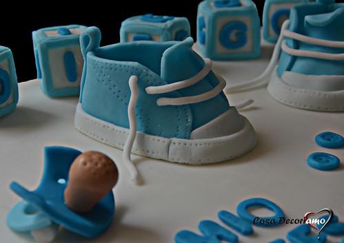 Torte - 81 - Torta Battesimo