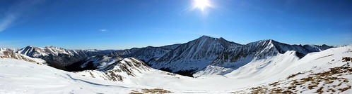 blue winter sky panorama sun snow mountains landscape colorado hiking rockymountains cupid frontrange lovelandpass grizzlypeak torreyspeak mountparnassus kelsomountain mountbard