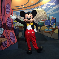 Mickey Mouse in Epcot