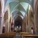 Nef, église romane Ste Foy (XIe siècle), Morlaàs, Béarn, Pyrénées-Atlantiques, Aquitaine, France. ©byb64