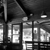 Greyscale study, cafe on the corner. #bw #coffeehouse #cafe #interior #middaybeer #beforethekidscomehome #beachmonkeycafe